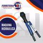 Ponchadora Para Comprimir Hidraulica