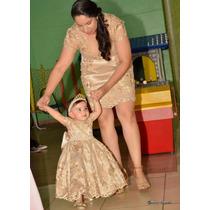 Vestido Tal Mãe Tal Filha No Tule Bordado E Pérolas