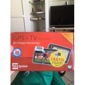 Gps Com Tv Digital Novo