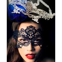 Antifaz Blanco Perla Disfraz Mascara Carnaval Ojos Halloween