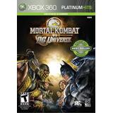 Mortal Kombat Vs. Dc Universe - Xbox 360 - Mídia Física Nf