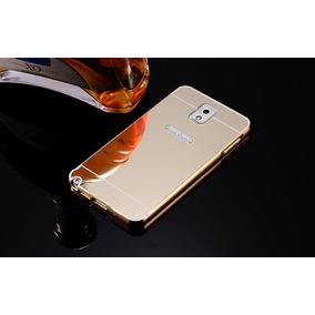 Bumper Lujo Espejo Aluminio Galaxy Note 3 + Envio Express