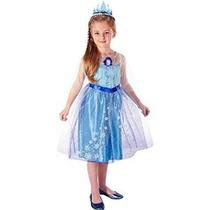 Disney Congelado Vestido Encantador - Elsa 4-6x