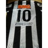 Camiseta Atlético Mineiro Ronaldinho Libertadores 2013 Orig