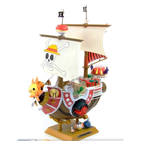 One Piece Thousand Sunny Barco Pirata Armable Dhl Grati 35cm