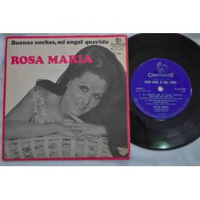 Rosa Maria, Buenas Noches Mi Angel Querido, Compacto, Vinil