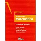 Didáctica De La Matemática. Enseñar A Enseñar Matemática