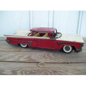 Antiguo Auto De Chapa Gorgo Buick Impala Cola De Pez
