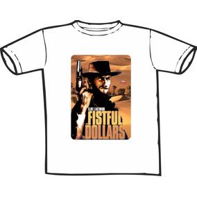 Camiseta Clint Eastwood Estampas Exclusivas! Só Nós Temos!