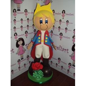 Boneco Pequeno Príncipe Em Eva 3d 35 Cm - B2