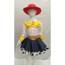 Disfraz Tipo Jessie Vaquerita Toy Story Con Sombrero Envio G