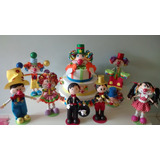 Enfeite Mesa Decoração Festa Infantil Circo Palhaços