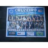 Poster Cruzeiro Tricampeao Superliga 2014/15
