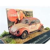 Diorama Volkswagen Fusca 1985 Customizado Coca Cola 1:43 Ixo
