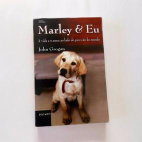 Livro: Marley E Eu - John Grogan ( Pocket Ouro) 18x12 Cm
