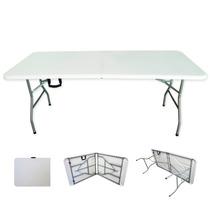 Mesa Para Jardín Tipo Portafolio Plegable Estructura Acero.,