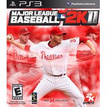 Major League Baseball 2k11 Ps3 Mídia Fìsica Lacrado