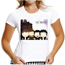 Camiseta The Killers Camisa Baby Look South Park Mulher Moca