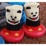 Zapato Calcetin Impermeable Invierno C/ Suela Perro Gato E4f