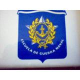 Ceramica Enmarcada De Escuela De Guerra Naval-uruguay-