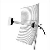 Mm-2425 Antena Parábola De Grade 2.4 Ghz 25 Dbi Aquário