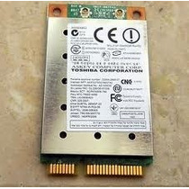 Tarjeta Wifi Mini Pci -e Inalambrica Laptop Toshiba L305d
