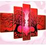 Decorativos Modernos Tripticos Amor Arbol Parejas Decoracion