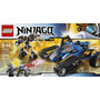 Lego Ninjago 70723 El Caza Terrestre Del Trueno 334 Pzs