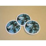 1000 Etiquetas Circulares Diám 70mm Cartón 1mm Fullcolor Lam