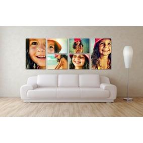 Foto Mural Gigante 200x80cm 6 Piezas Textura Lienzo