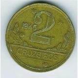 Moeda 2 Cruzeiros 1945 Ref. 241