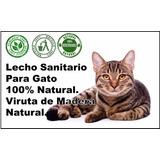 Lecho Sanitario Para Gatos, (mascotas) 100% Teca Natural.
