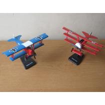 Colección Aviones Famoso 1ra. Guerra Mundial, Para Armar