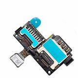 Conector Slot Sim Card Chip Galaxy S4 Mini I9192 I9195 I9190