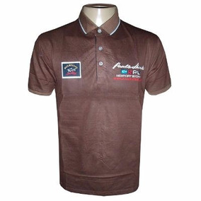 Camisa Polo Paul & Shark Marron Ps55 - Frete Grátis!
