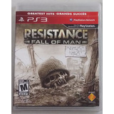 Resistance Fall Of Man Juego Playstation 3 Ps3