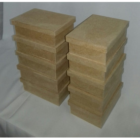 Kit Com 10 Caixas Mdf Cru 10x15x5 Cm Lembrancinha