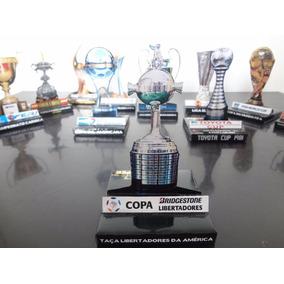Taça Libertadores Da América - Miniatura 3d Paper