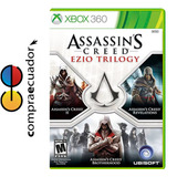 Assassins Creed Ezio Trilogy Xbox360 Nuevo Sellado Original