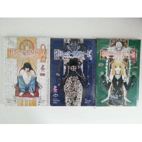 Mangá Death Note Volumes 2, 3 & 4 - Novos Lacrados!!!