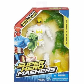 Muñeco Marvel Super Hero Mashers Iron Fist Hasbro