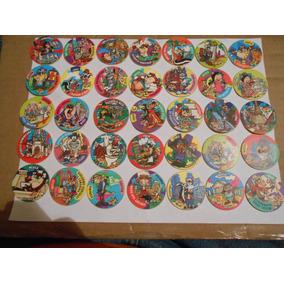 Tazos Looney Tunes Giratazos Lote 35 Piezas