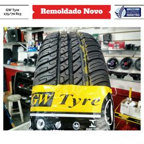 Pneu 175/70 R13 Gw Tyre Remoldado Inmetro Garantia 1 Ano