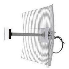 Mm2425f1 Antena Parabola 2.4 Ghz 25 Dbi Com Cabo 1m Aquário