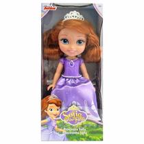 Boneca Sofia De 25cm Original Princesinha Sofia Disney