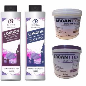 Escova London 2x1 Litro + Botox Capilar 2 Kgs