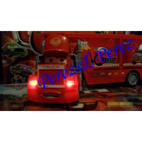 Trailer Cars Mack + Rayo, Mate, (4 Carritos)