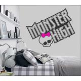 Adesivo Papel De Parede Monster High Lançamento Exclusivo