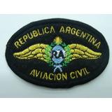 Escudo Bordado Original Aviación Civil