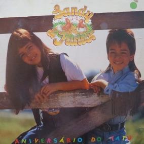 Lp Sandy & Junior - Aniversário Do Tatu - Vinil Raro